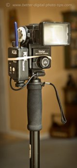 Using a monopod for flash instead of for your camera