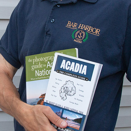 2 books on Acadia photography
