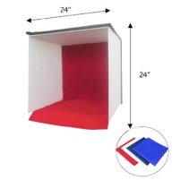 You can buy pre-built macro photography light boxes or make one yourself