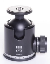 This Arca Swiss ball head is large and has a higher maximum weight capacity than the small ball heads