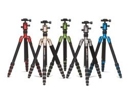 Reviews of colorful camera tripods