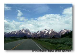 vacation photography-from the passenger seat