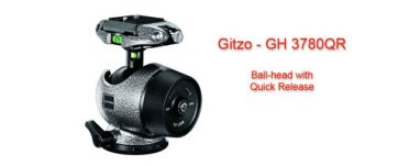 Gitzo GH-3780qr Tripod ball Head