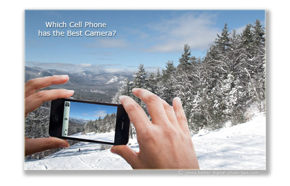 Which cell phone has the best camera?