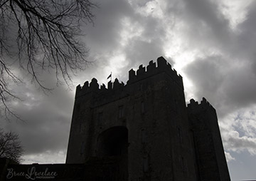 Bunratty Castle Silhouette