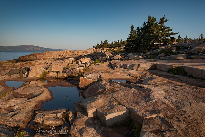 Schoodic Acadia sunset