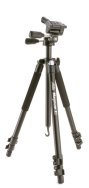 Pan-tilt-swivel tripod