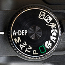 A-DEP camera setting mode