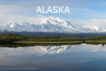 Alaska Travel Photo - by Better Digital Photography Tips.com