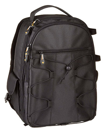 AmazonBasics DSLR camera laptop backpack
