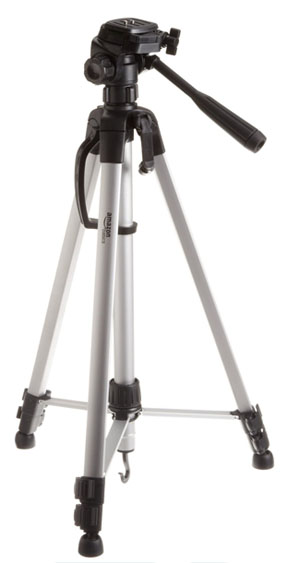 Tripod with support arms