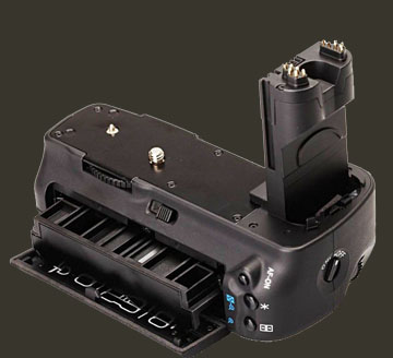 Typical battery grip