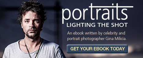 Banner for portraits-lighting the shot eBook