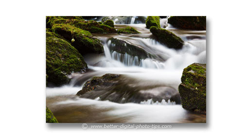 Beginning Photographers should understand when to use a very slow shutter speed.