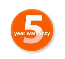 Benro Tripods Have a 5 Year Warranty - Logo