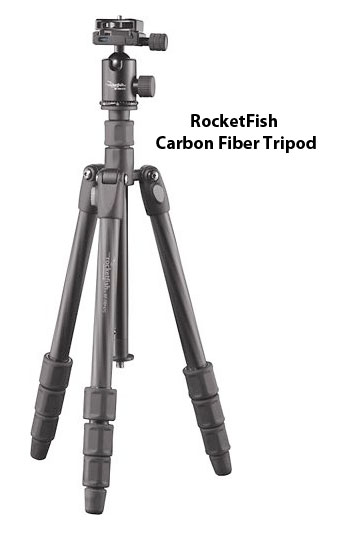 This Rocketfish tripod came with the ball head includeds