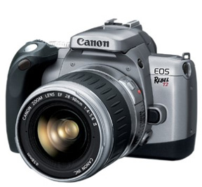 Used DSLR camera - Canon Rebel T2