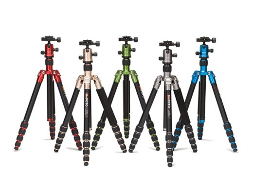 Colorful Benro Tripods