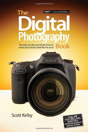 Cover image of Scott Kelby's book on digital photography