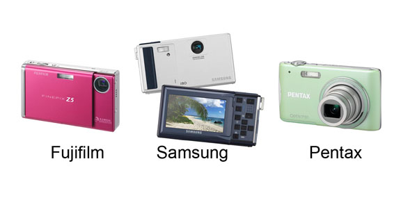 point and shoot camera collection