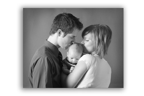 Use of good lighting is critical with family portrait photography