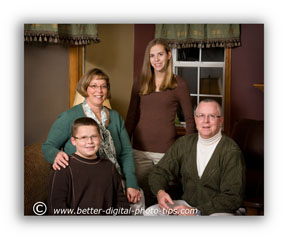 Family portrait pose idea - 2