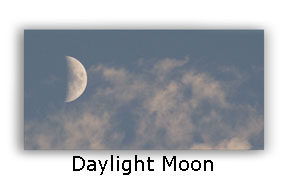 Photographing The Moon During Daylight