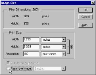 You can adjust image size in Photoshop