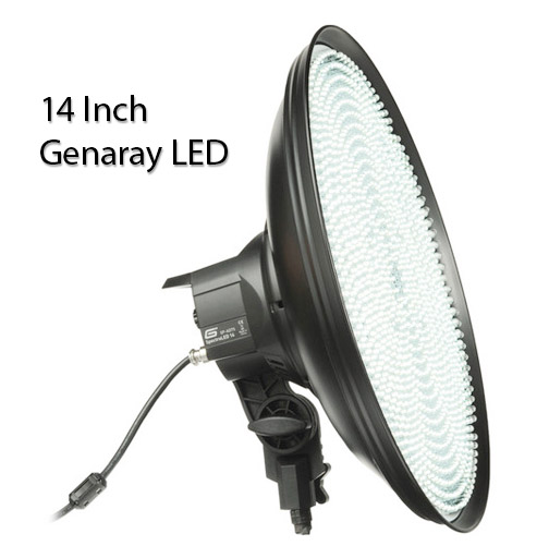 LED Continuous Photography Lighting Equipment - 14 Inch Round