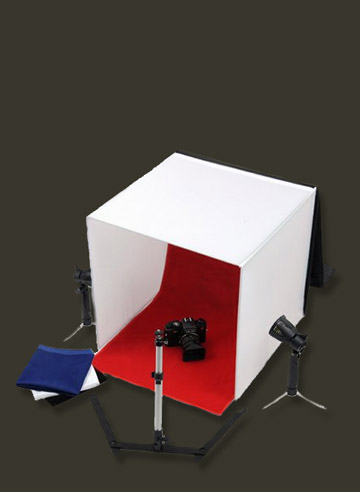 Light tent makes macro photography indoors a whole lot easier