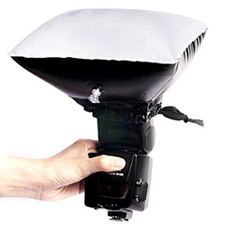 Diffusers for good close-up lighting