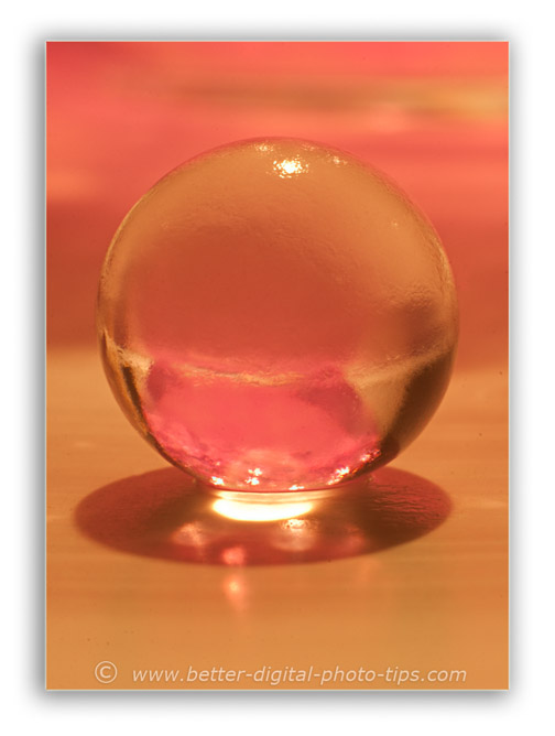 Spotlight macro photography lighting - 2