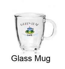 Make a glass mug