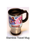Make a stainless travel mug