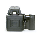 Mamiya 645 With a Through the Lens prism camera back attached