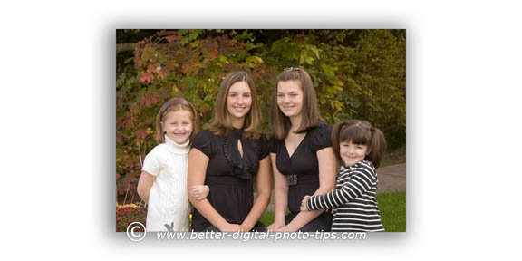 Outdoor Family Portraits - Cousins