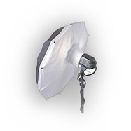The Photflex softfox can be used as a main light source or a photo fill light