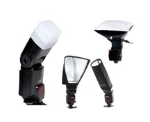 System Accessories for shoe-mounted lighting