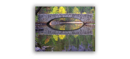 Using The Rule of Thirds in Photography of an Arch and its Reflection