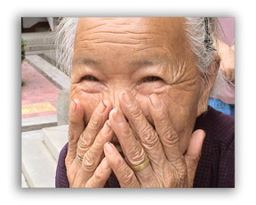 Pictures of Senior Citizens-Pose 1