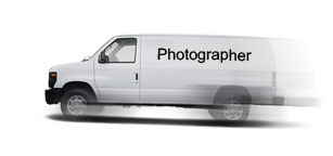 Photography Van in a Hurry