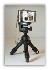 A tripod is useful if you don;t have a camera designed to take a