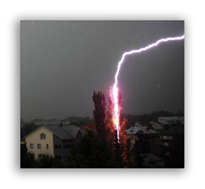 cool photo of lightning storm