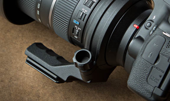Tamron 150-600 Lens Ring Close-up