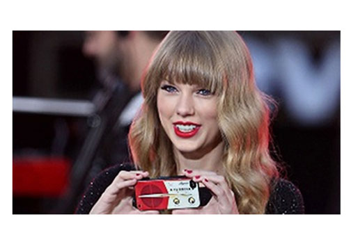 Taylor Swift probably uses her iPhone camera more than any other digital camera, for sure.