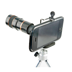 Telephoto lens for mobile phone  camera