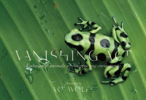 Vanishing Act - Book by Art Wolfe