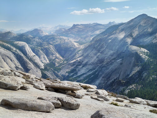 Yosemite Photography - View from Half Dome