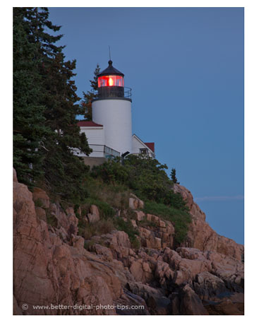Bass Harbor Lighthouse - Acadia Travel Photo