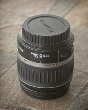Canon EF-S 18-55mm kit lens